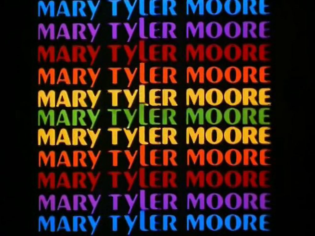 """The Mary Tyler Moore Show"" title card"