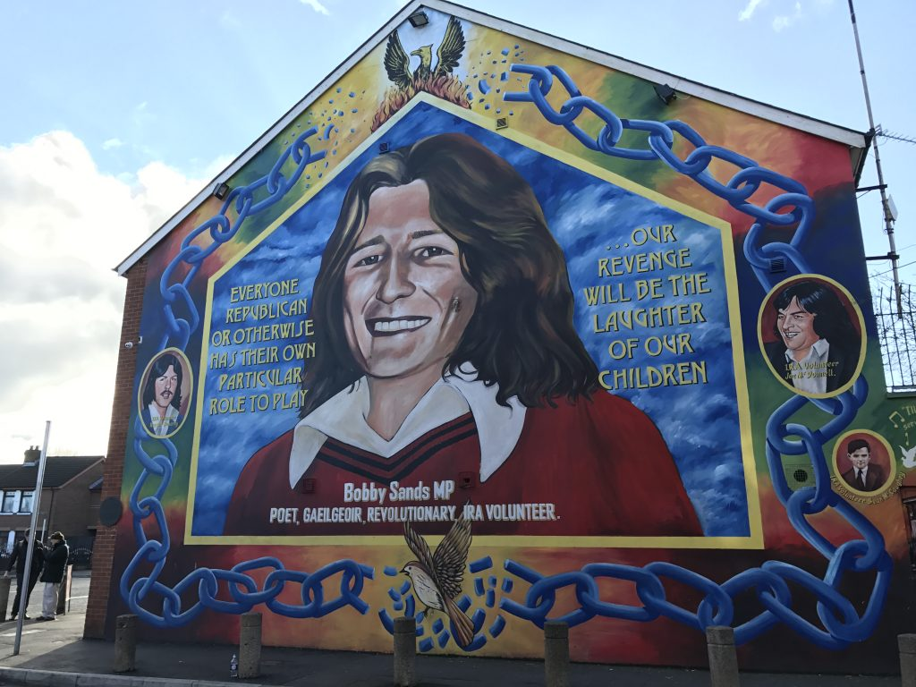 These murals lie at the center of a debate over northern for Murals belfast