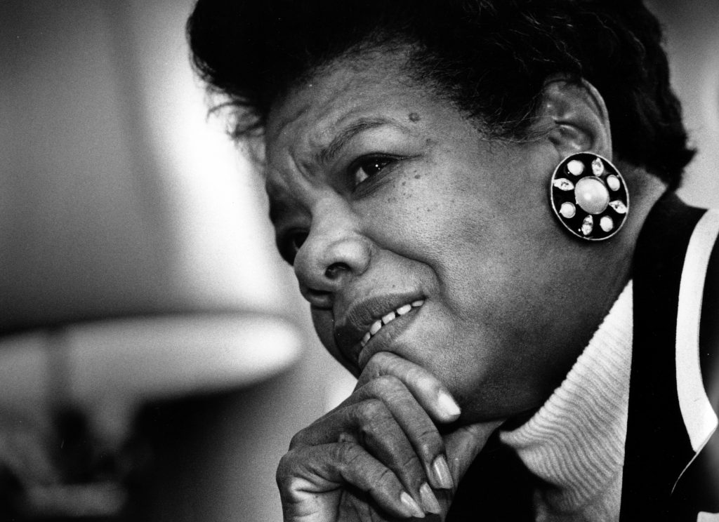 a angelou knew how a laugh could be a survival tool newshour
