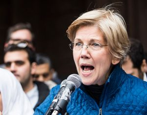 Sen. Elizabeth Warren on Monday released DNA evidence supporting her claim that she has Native American ancestry. Photo by Kevin Lamarque/Reuters.