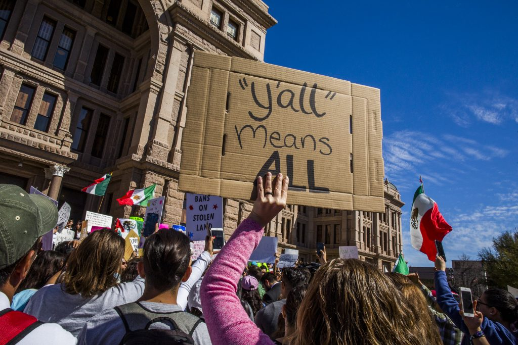 """Immigrant Workers Stay Home For """"Day Without Immigrants"""" Protest"""