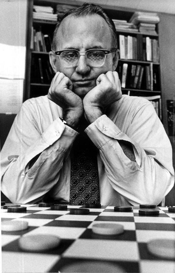 Checkers Champion Marion Tinsley in 1988 Photo: State Archives of Florida/Foley