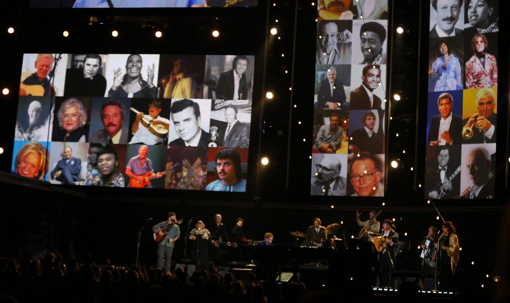 How the Grammy Awards' 'In Memoriam' tributes are made
