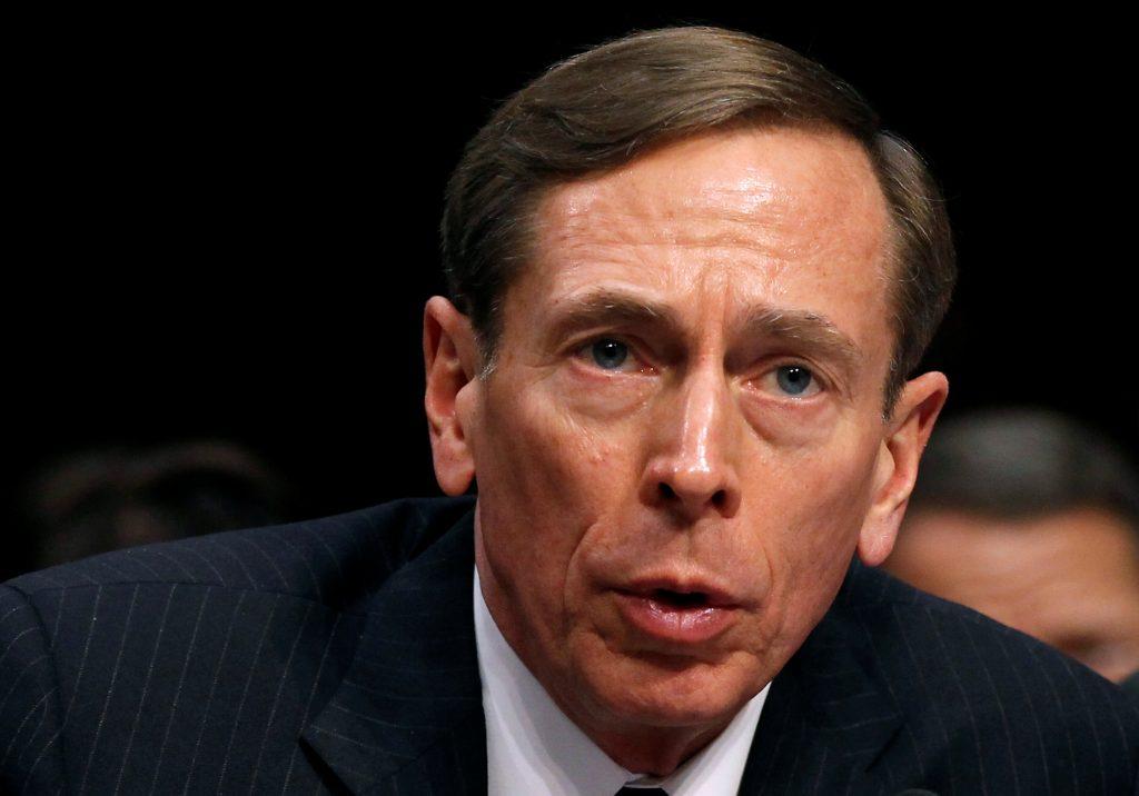 File photo of former CIA Director David Petraeus by Kevin Lamarque/Reuters