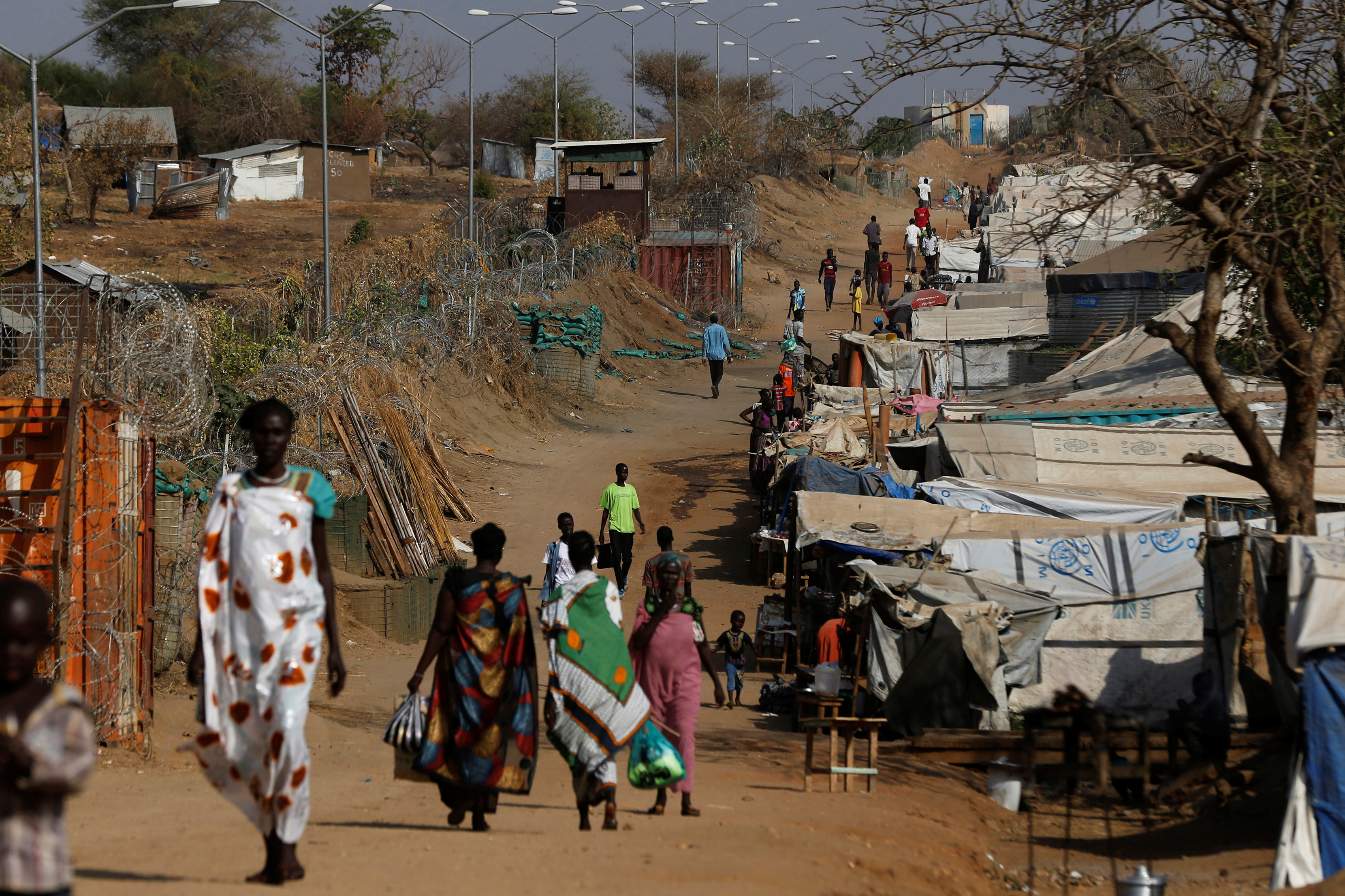 A U.N.-run camp outside South Sudan's capital Juba houses those who have fled the violence between government and opposition forces. Photo by Siegfried Modola/Reuters