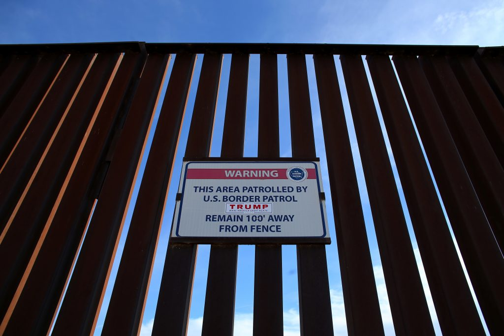 Mexico border wall construction contract bids open March 6