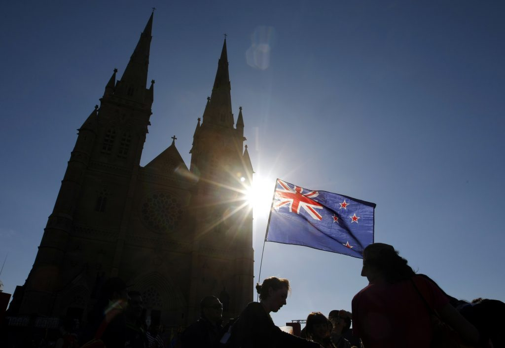 Photo by St. Mary's cathedral in Sydney in 2008. Photo by Tim Wimborne/Reuters
