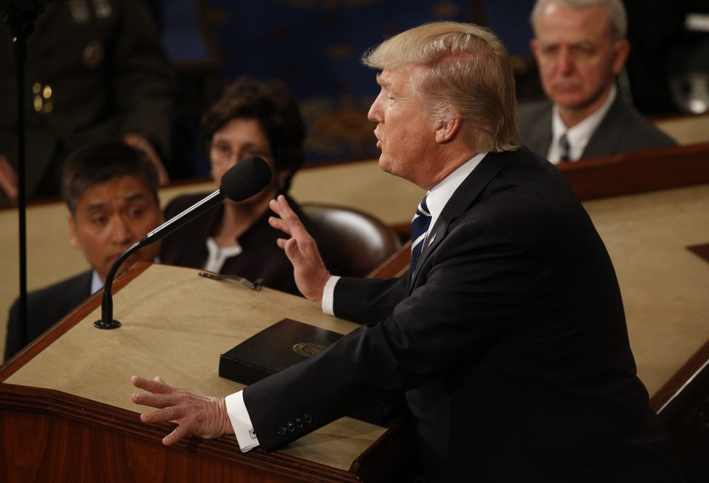 The 46 Topics Donald Trump Covered In His Address To Congress Pbs
