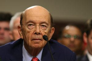 Wilbur Ross testifies Jan. 18 before a Senate Commerce, Science and Transportation Committee confirmation hearing on his nomination to be commerce secretary at Capitol Hill in Washington, D.C. Photo by REUTERS/Carlos Barria.