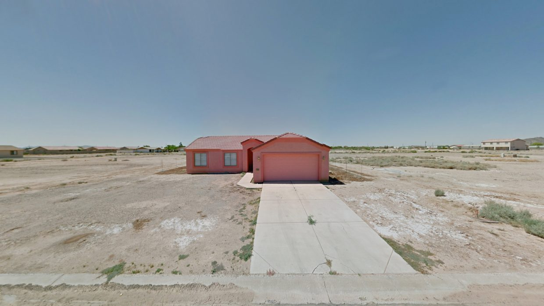 A house in Arizona City, Arizona. Photo by Jacqui Kenny/Google Street View