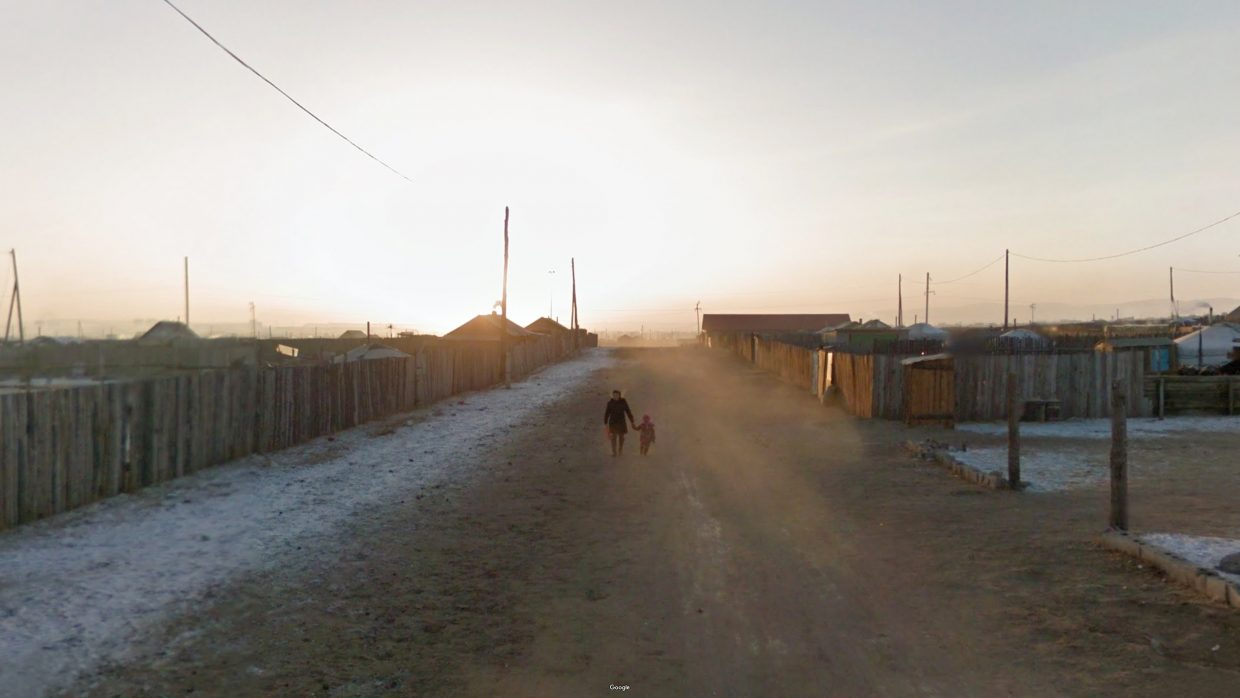 The Baganuur district of Ulaanbaatar, Mongolia. Photo by Jacqui Kenny/Google Street View