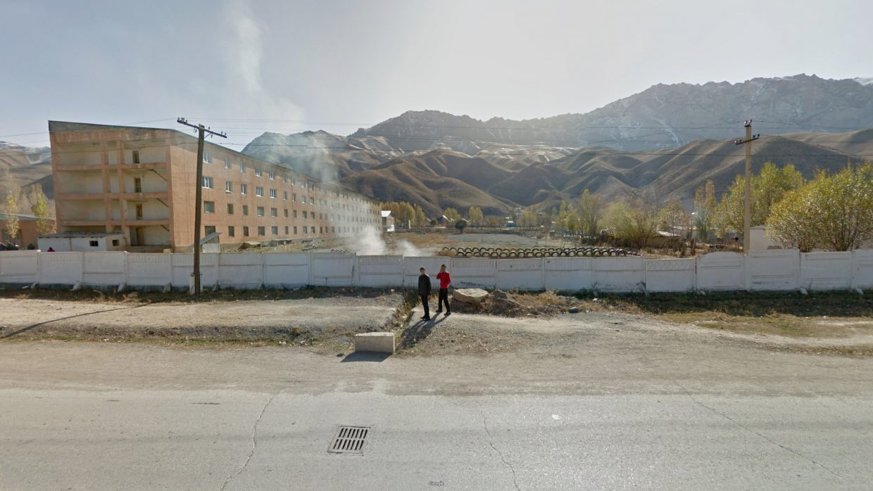 A view from the Naryn region of Kyrgyzstan. Photo by Jacqui Kenny/Google Street View