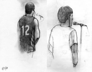 Sketch by Lawrence Gipe/Associate Professor, University of Arizona, 2014