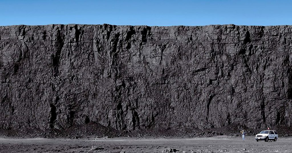 Surface coal mine in Wyoming's Powder River Basin. Photo by Bureau of Land Management Wyoming