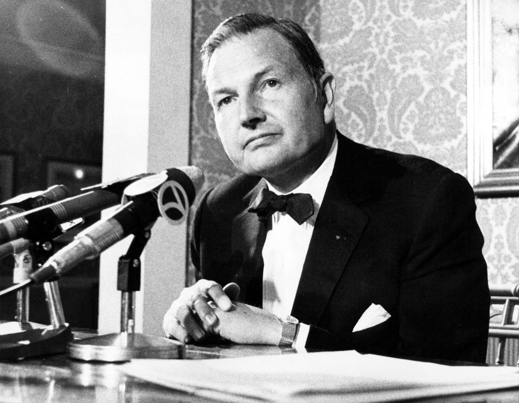 David Rockefeller. Photo taken in February 1971. Photo by Jerry Engel/New York Post Archives/NYP Holdings, Inc. via Getty Images