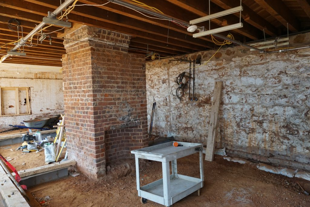 The room that historians interpret as having belonged to Sally Hemings. Credit: Alison Thoet