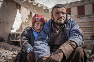 About 6 million children in Syria are affected by war, according to aid groups. Photo by Jonathan Hyams for Save the Children