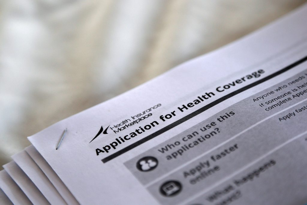 Applications for health coverage