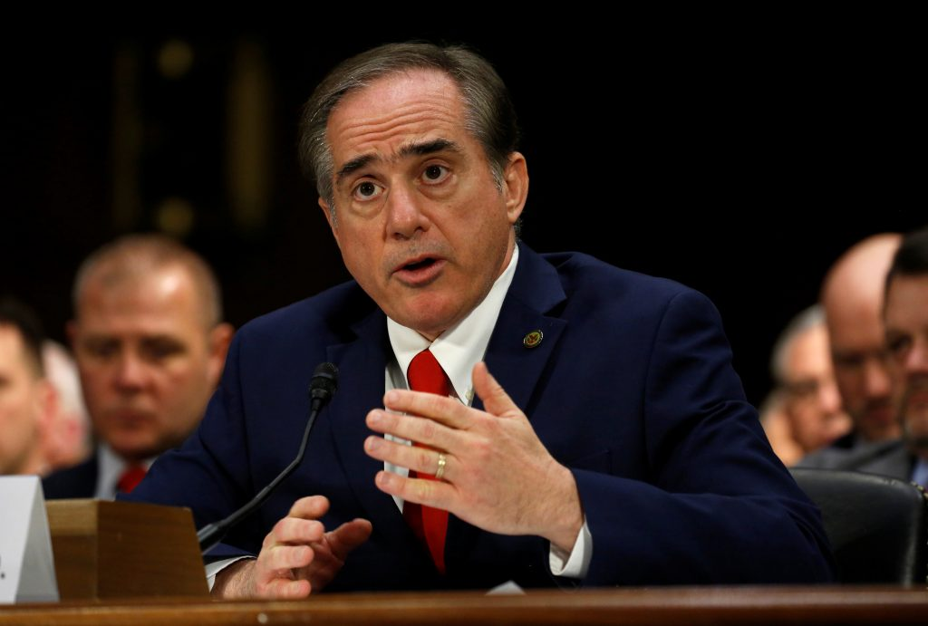 David Shulkin testifies before the Senate Veterans Affairs Committee during his confirmation hearing on his nomination to be Veterans Affairs secretary on Capitol Hill in D.C. Photo by Kevin Lamarque/Reuters