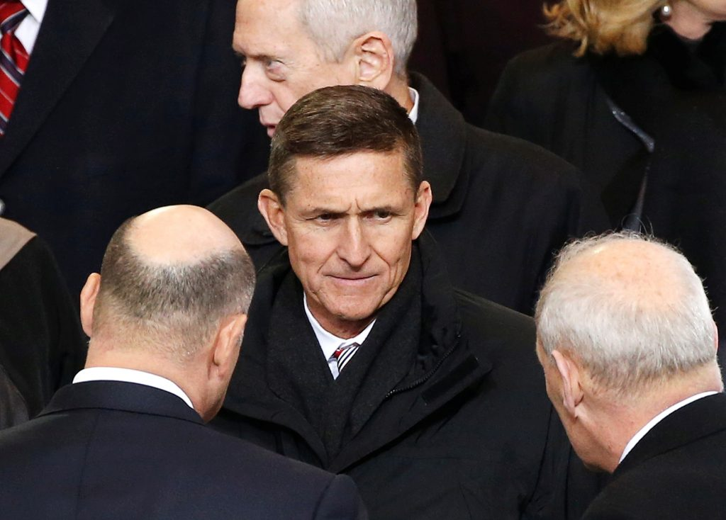 File photo of Michael Flynn by Lucas Jackson/Reuters