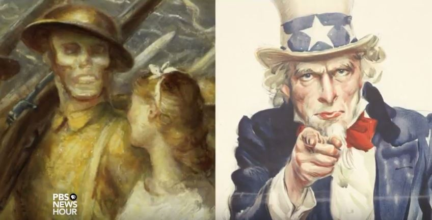 how american artists captured the great war up close