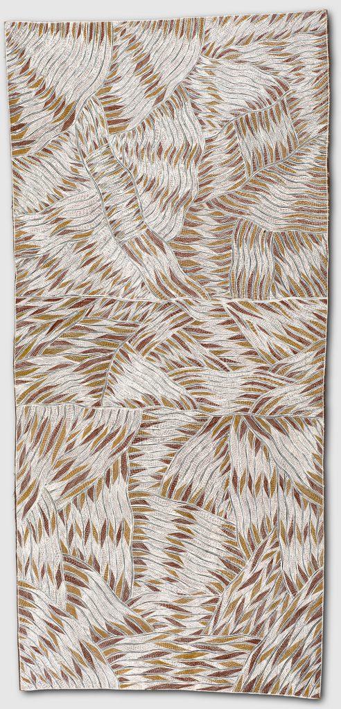 'Munurru,' or 'Rough,' by Galuma Maymuru. Credit: Seattle Art Museum.
