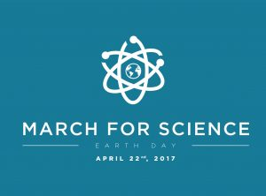 The March for Science logo. Photo by March for Science