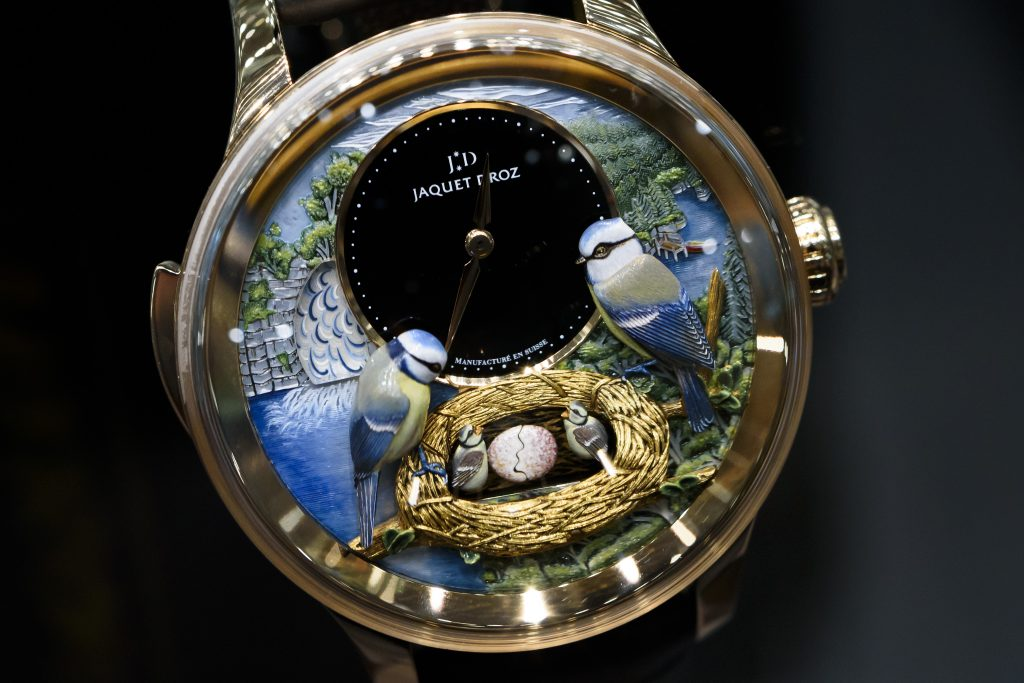 Will a Trump tax cut be the goose that lays a golden egg for the struggling Swiss watch industry? Photo by Fabrice Coffrini/Getty Images