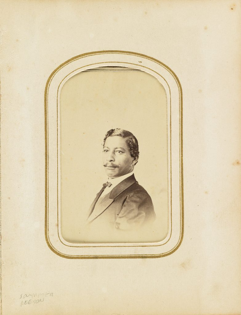 John Willis Menard, the first African American man elected to the U.S. Congress. Images provided by LOC/NMAAHC
