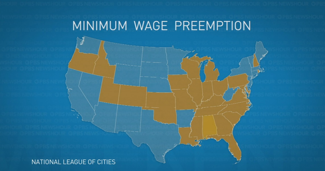 Minimum Wage Preemption, National League of Cities