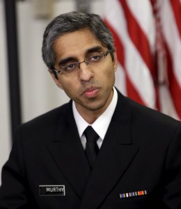 U.S. Surgeon General Murthy participates in roundtable discussion at Howard University in Washington