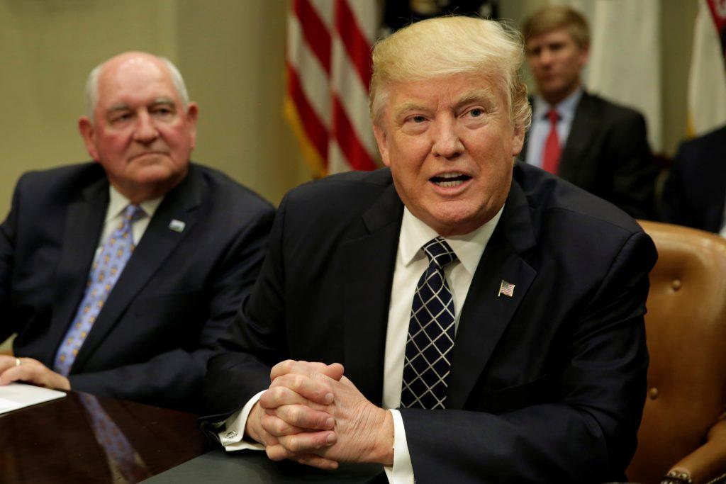 File photo of President Donald Trump by Yuri Gripas/Reuters