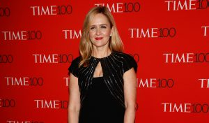 Samantha Bee arrives for the Time 100 Gala in the Manhattan borough of New York