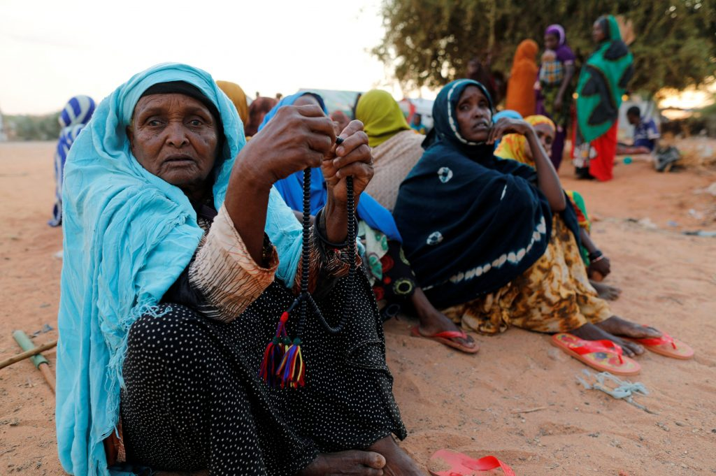 Somalis who enter internally displaced persons camps await help. Photo by Zohra Bensemra/Reuters