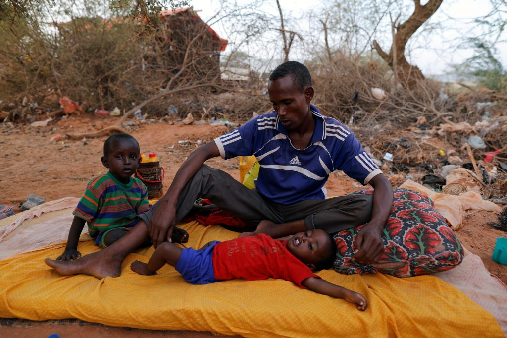 Aid groups are concerned this year's drought will have more devastating impacts because of the potential spread of disease. Photo by Zohra Bensemra/Reuters