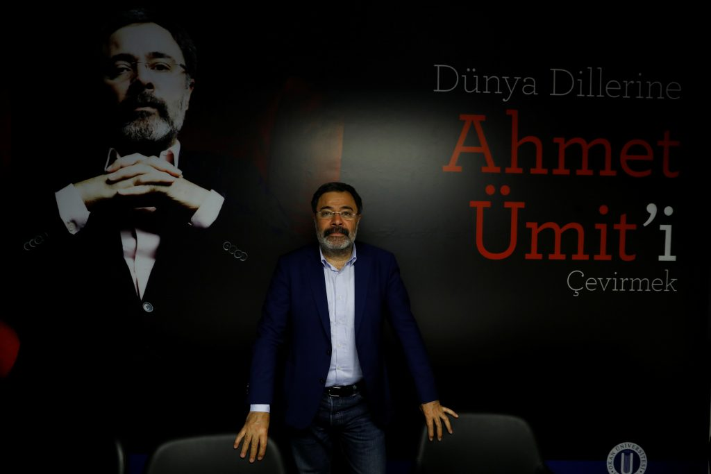 "NO: Author Ahmet Umit, 56, at an international conference about his books in Istanbul says, ""Turkey's main problem is social consensus. The constitutional changes should solve our existing problems and improve our democracy. But they won't. What we need is not the rule of one man or one party. What we need is independent executive, legislative and judiciary powers and an independent media; not a system where one owns all the power. If you lose your country, what would a victory in the referendum mean?"" Photo by Umit Bektas/Reuters"
