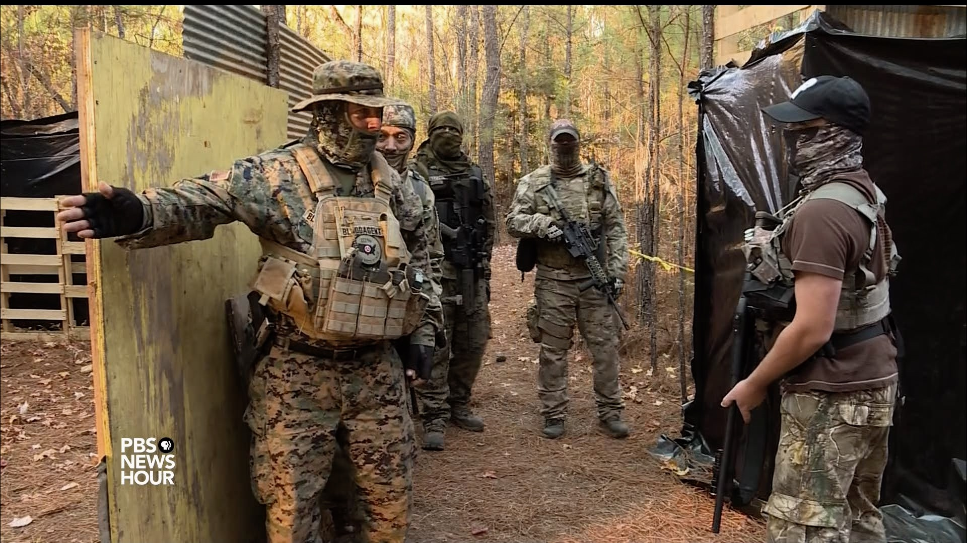 Why armed militia groups are surging across the nation | PBS NewsHour