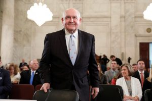 Secretary of Agriculture nominee Sonny Perdue arrives at his March confirmation hearing before the Senate Agriculture Committee on Capitol Hill in Washington, D.C. Photo by REUTERS/Aaron P. Bernstein.
