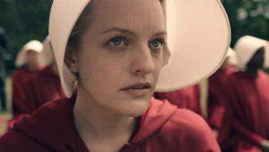 """""""The Handmaid's Tale"""" stars Elisabeth Moss. Credit: Hulu"""