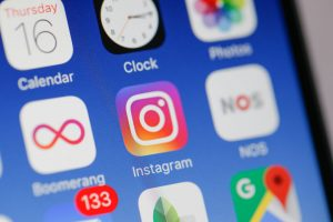 The Instagram app is seen on an iPhone. Photo by Jaap Arriens/NurPhoto via Getty Images