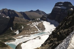 View from atop the Grinnell Glacier Overlook trail in Glacier National Park, Montana August 24, 2011. Photo by Matt Mills McKnight/REUTERS
