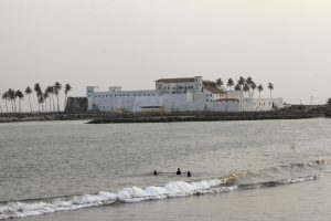A view of the Elmina Castel is seen in Elmina December 21, 2012. The Elmina Castle was built by the Portuguese in 1482 and would later become one of the most important stops on the Atlantic slave-trading route. Photo by Luc Gnago/Reuters