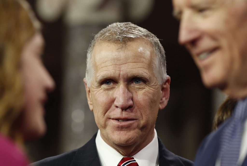 File photo of Sen. Thom Tillis, R-N.C., by Larry Downing/Reuters