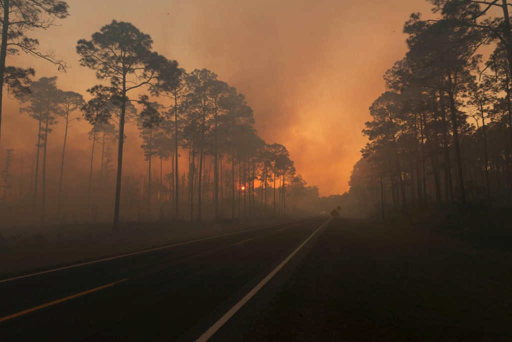 Southern States Face Drought and Risks of Wildfires