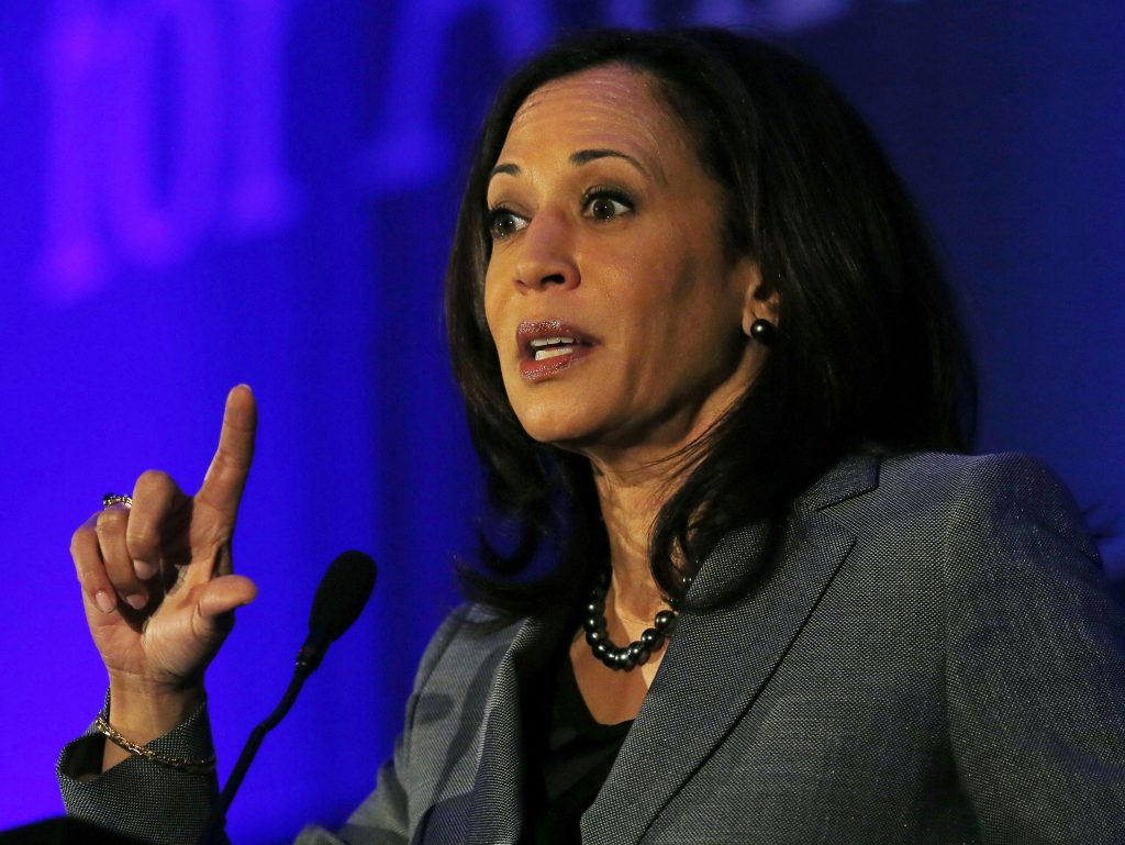 California Attorney General Harris speaks at the Center for American Progress' 2014 Policy Conference in Washington