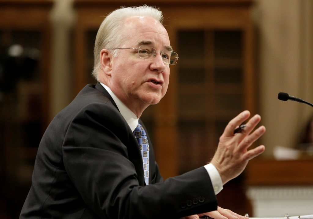 Price defends cutting nearly 1 trillion from medicaid pbs newshour secretary of health and human services tom price testifies on fiscal year 2018 budget blueprint before malvernweather Image collections