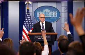 White House national security advisor H.R. McMaster speaks to reporters in the White House briefing room in Washington, U.S., May 16, 2017. REUTERS/Joshua Roberts TPX IMAGES OF THE DAY - RTX363RM