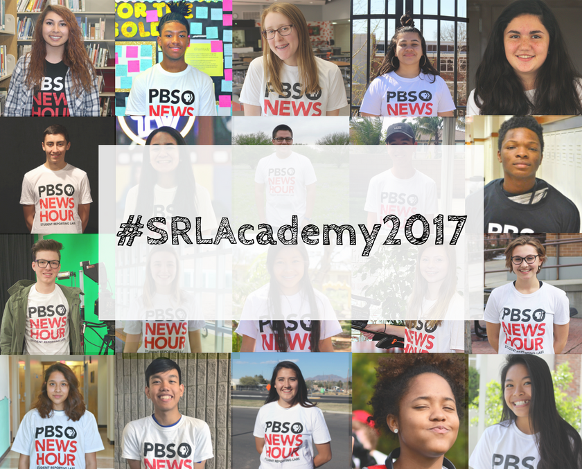 20 students from across the country will gather together for the 2017 Student Reporting Labs Academy