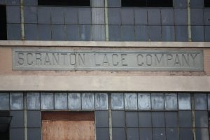 Scranton Lace Company, as pictured today. Photo by Margot Douaihy