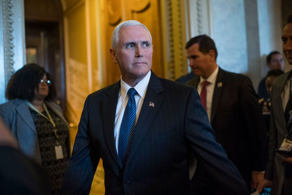 File photo of Vice President Mike Pence by Tom Williams/CQ Roll Call
